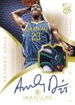 2012-13 Immaculate Basketball Davis