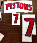 2012-13 Immaculate Basketball Pistons