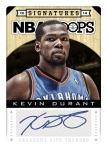 2013-14 NBA Hoops Durant