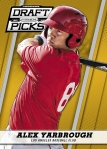 2013 Prizm Perennial Draft Picks Baseball Yarbrough Gold