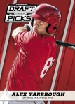 2013 Prizm Perennial Draft Picks Baseball Yarbrough Red