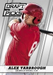 2013 Prizm Perennial Draft Picks Baseball Yarbrough