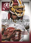 Panini America 2013 Absolute Football Griffin Spectrum Red