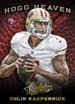 Panini America 2013 Absolute Football Kaepernick Hogg Heaven