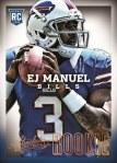 Panini America 2013 Absolute Football Manuel SP Rookie
