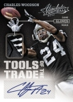 Panini America 2013 Absolute Football Woodson Tools of the Trade