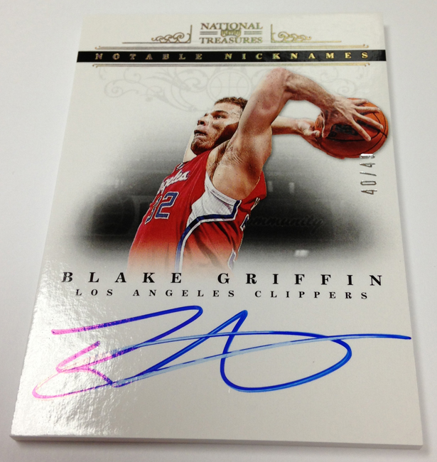 Panini America 2013 National NT Redemptions (2)
