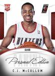 Panini America 2013 NBA RPS Personal Edition 10