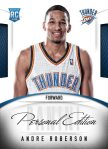 Panini America 2013 NBA RPS Personal Edition 23