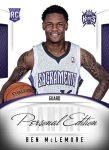 Panini America 2013 NBA RPS Personal Edition 7