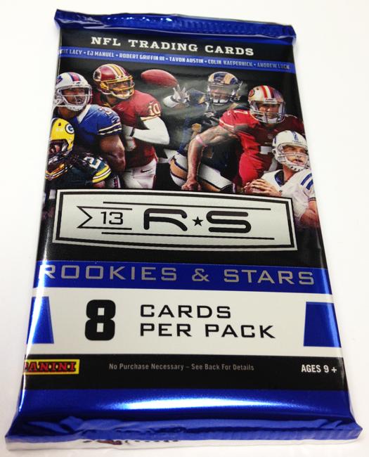 Panini America 2013 Rookies & Stars Football Teaser (4)