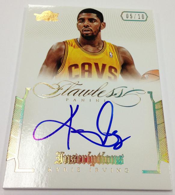 2012-13 Flawless Basketball Autos September 16 (2)