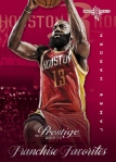 2013-14 Prestige Basketball James Harden Franchise Favorites