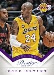 2013-14 Prestige Basketball Kobe Bryant Bonus Shots Blue