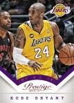 2013-14 Prestige Basketball Kobe Bryant Bonus Shots Red
