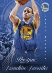 2013-14 Prestige Basketball Steph Curry Franchise Favorites