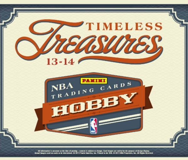 2013-14 Timeless Treasures Basketball Main