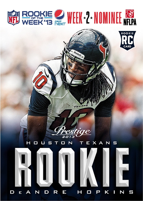 Pepsi NEXT Week 2 Rookie of the Week Nominee Hopkins