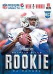 2013 Pepsi NEXT NFL Rookie of the Week 2 Winner
