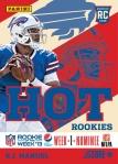 Panini America Pepsi NEXT NFL ROW Nom 3