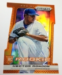 Pack 5 Orange Prizm