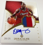 Panini America 2012-13 Immaculate Basketball September 27 (28)