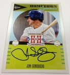 Panini America 2013 Hometown Heroes Baseball September 21 Autos (9)