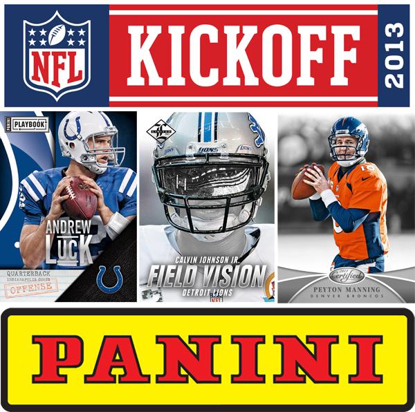 Panini America 2013 NFL Kickoff Contest