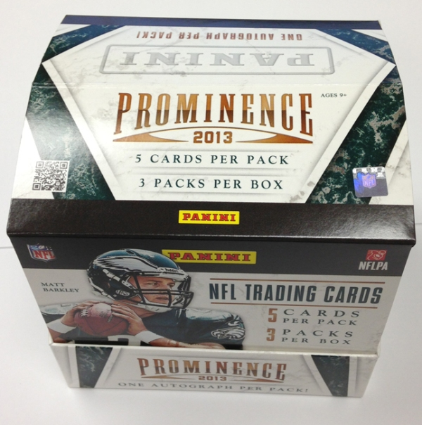 Panini America 2013 Prominence Football QC (1)