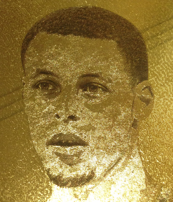 Steph Curry Etch