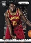 2013-14 Prizm Basketball Anthony Bennett Black