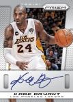 2013-14 Prizm Basketball Kobe Auto