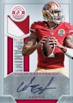 2013 Totally Certified Football Kaepernick