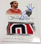 Panini America 2012-13 Flawless Basketball Autograph Mem (52)