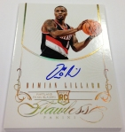 Panini America 2012-13 Flawless Basketball Autos (90)