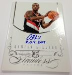 Panini America 2012-13 Flawless Basketball Autos (91)