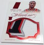Panini America 2012-13 Flawless Basketball Jumbo Patches (30)