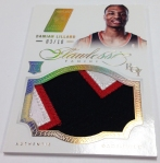 Panini America 2012-13 Flawless Basketball Jumbo Patches (34)