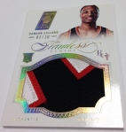 Panini America 2012-13 Flawless Basketball Jumbo Patches (35)