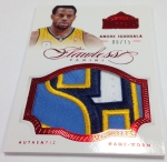 Panini America 2012-13 Flawless Basketball Jumbo Patches (60)