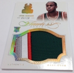 Panini America 2012-13 Flawless Basketball Jumbo Patches (72)