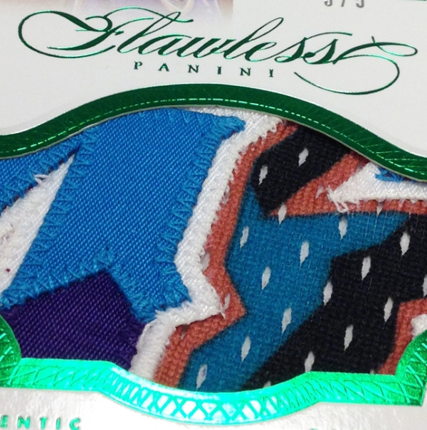 Panini America 2012-13 Flawless Basketball Jumbo Patches Main