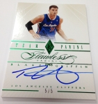 Panini America 2012-13 Flawless Basketball Late Arrivals (11)