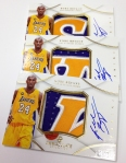 Panini America 2012-13 Immaculate Basketball Kobe Bryant (12)