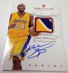 Panini America 2012-13 Immaculate Basketball Kobe Bryant (18)
