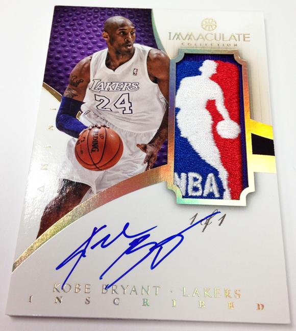 Panini America 2012-13 Immaculate Basketball Kobe Bryant (2)