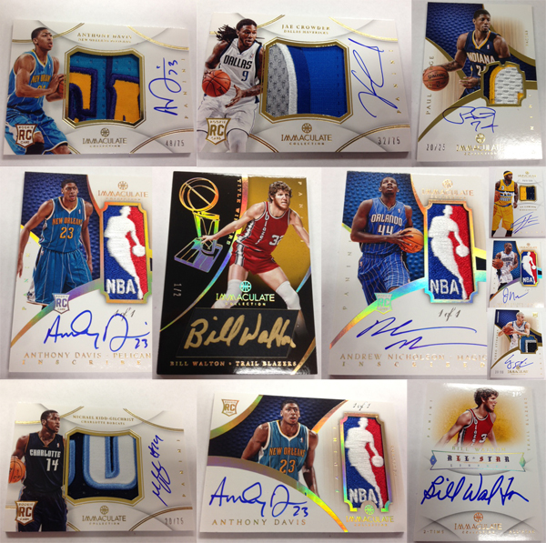 Panini America 2012-13 Immaculate Basketball Peek Main