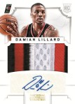 Panini America 2012-13 National Treasures Damian Lillard 1