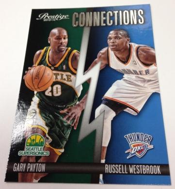 Gary Payton / Russell Westbrook - Sonics / Thunder