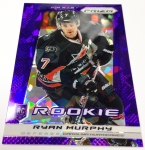 Panini America 2013-14 Prizm Hockey Purple Cracked Ice (10)